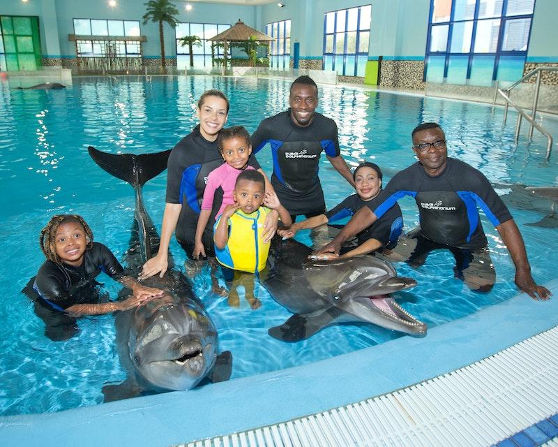 Dubai Dolphinarium: Swimming with Dolphins Location