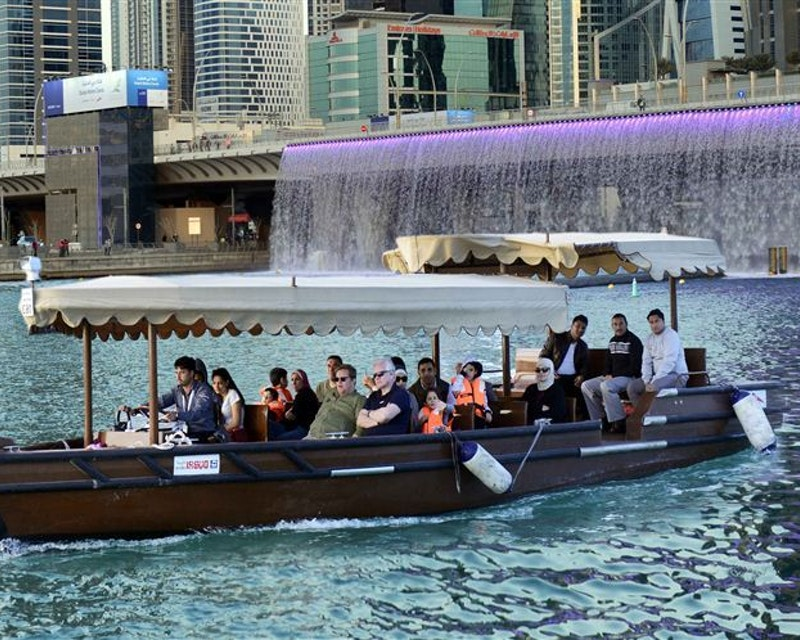 Abra Ride in the Dubai Water Canal  Discount