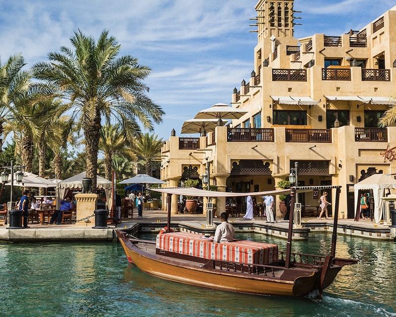 Abra Ride in the Dubai Water Canal