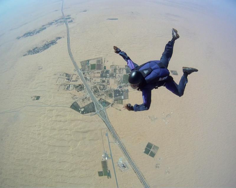 Skydive Dubai Desert Drop Zone  Tripx Tours