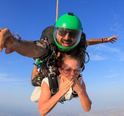 Skydive Dubai Desert Drop Zone  Ticket