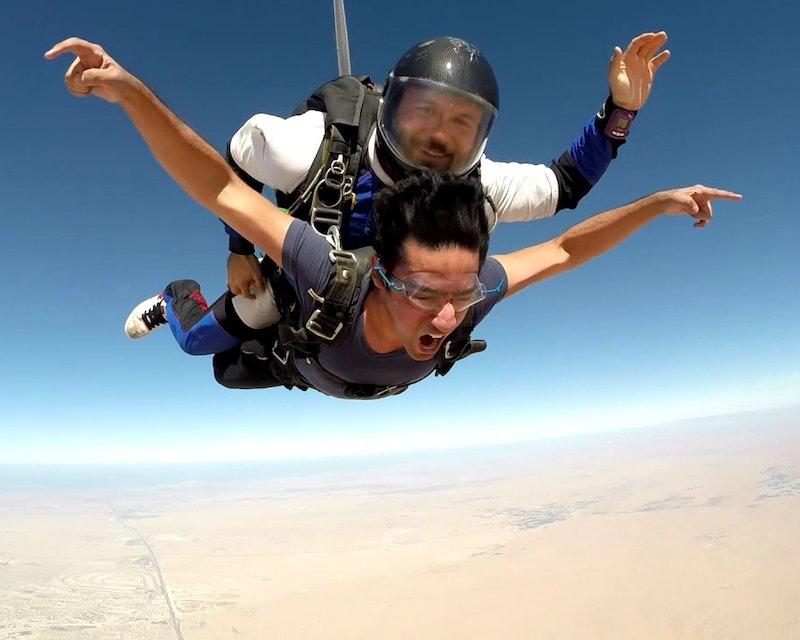 Skydive Dubai Desert Drop Zone