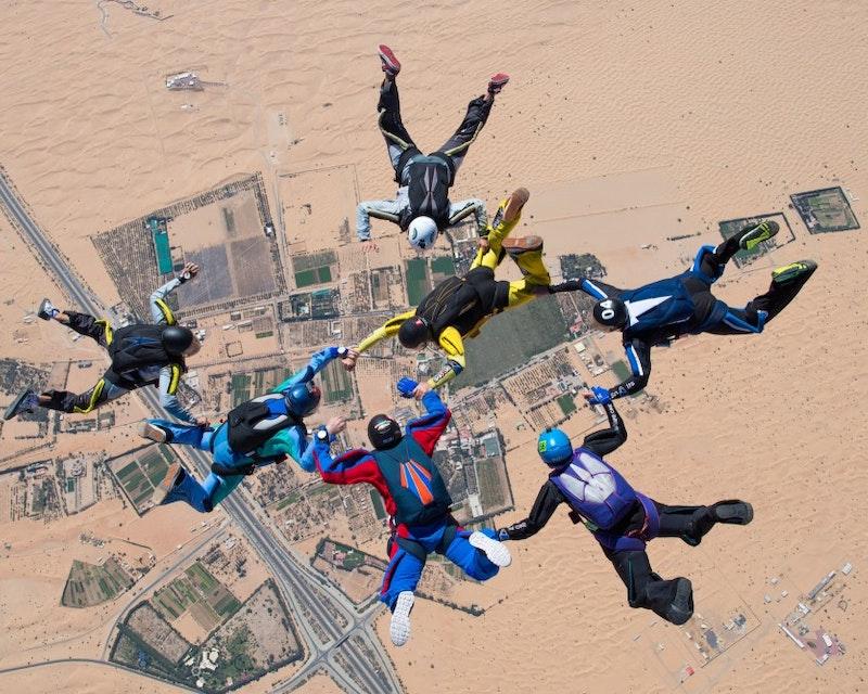 Skydive Dubai Desert Drop Zone  Category