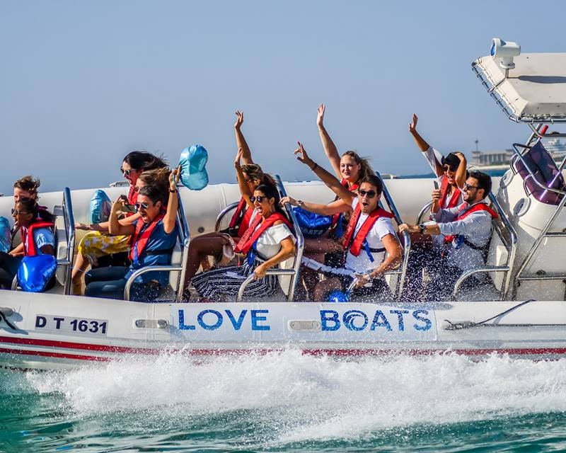 Love Boats: 90 Minutes Tour  Ticket
