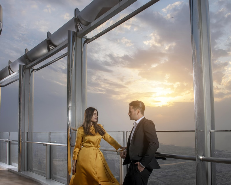 Burj Khalifa : The Lounge 152 ,153 and 154 Floor Review