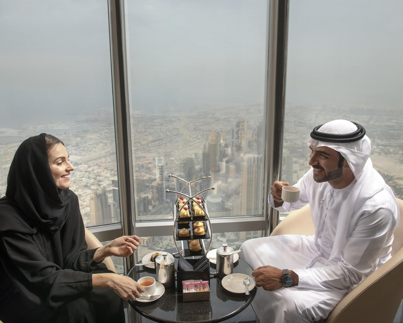Burj Khalifa : The Lounge 152 ,153 and 154 Floor Discount