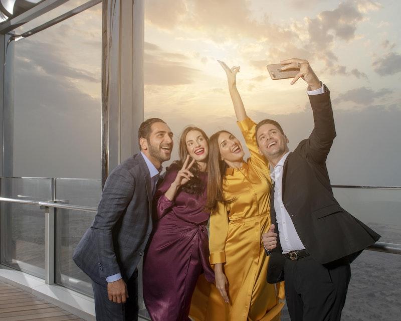 Burj Khalifa : The Lounge 152 ,153 and 154 Floor