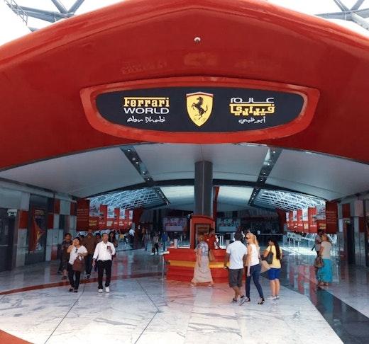Ferrari World, Yas Waterworld, Warner Bros. World™ Abu Dhabi (3 Days Pass)  Ticket