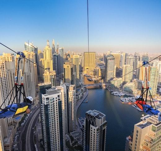 XLine Zipline Dubai Marina  Price