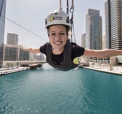 XLine Zipline Dubai Marina  Discount
