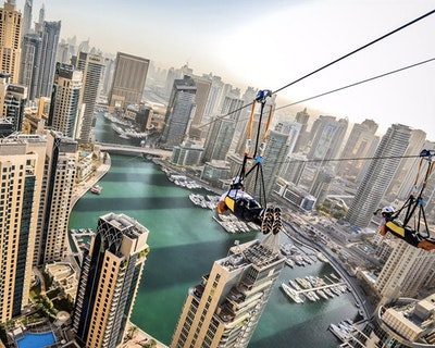 XLine Zipline Dubai Marina