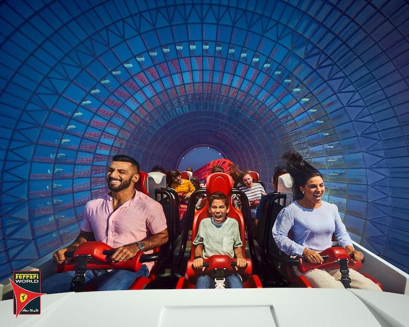Sheikh Zayed Mosque + Ferrari World Tour Category