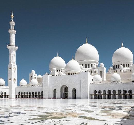 Sheikh Zayed Mosque + Ferrari World Tour from Abu Dhabi   Location