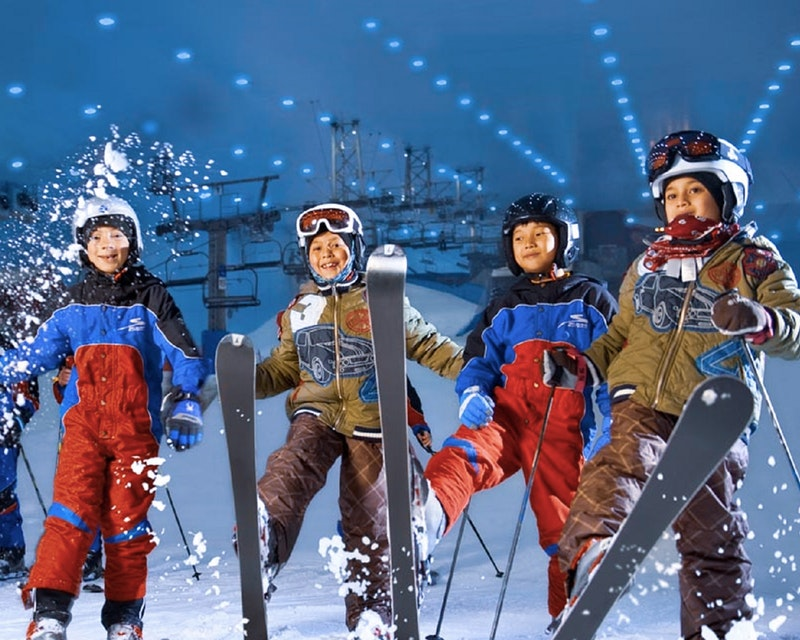Ski Dubai & IMG World   Ticket