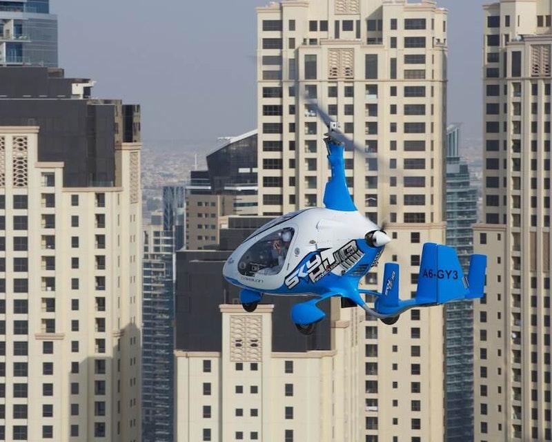Gyrocopter Tour Dubai  Ticket