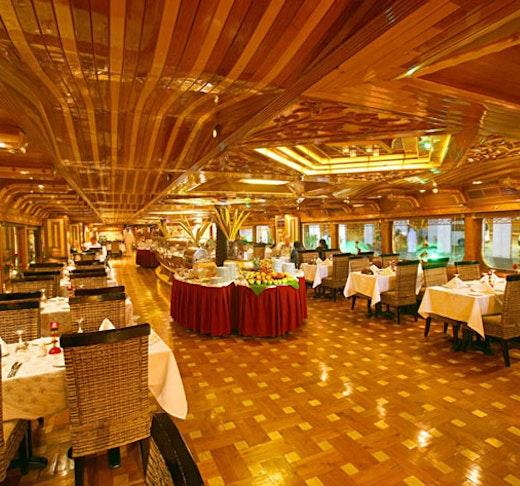 World's Biggest Wooden Floating Cruise in Dubai Creek