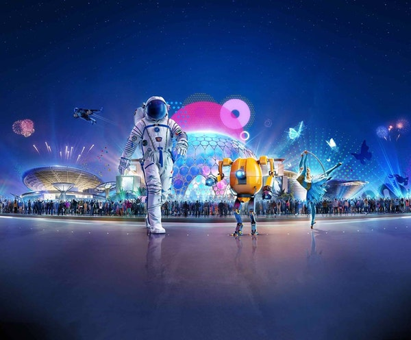 Expo 2020 Tickets + Global Village