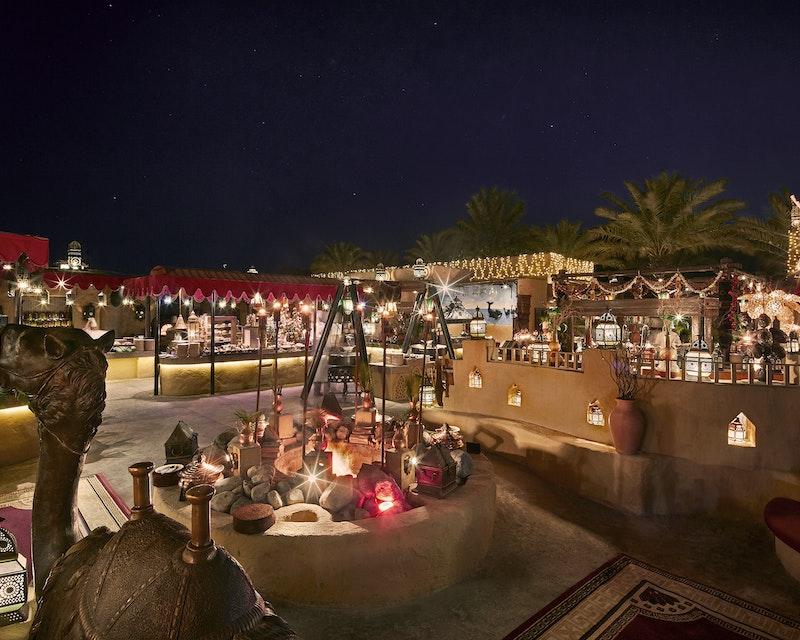Al Hadheerah Desert Restaurant  Tripx Tours