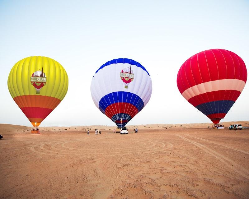 Standard Hot Air Balloon, Camel ride with Breakfast & Desert Safari Price