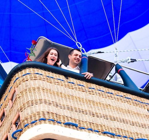 Standard Hot Air Balloon, Camel ride with Breakfast & Desert Safari