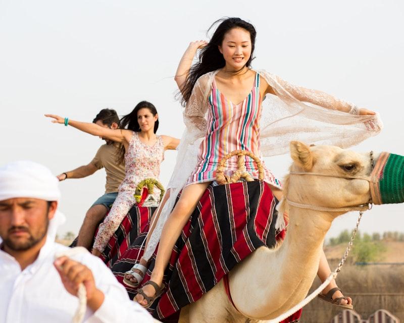 Standard Hot Air Balloon, Camel ride with Breakfast & Desert Safari Review