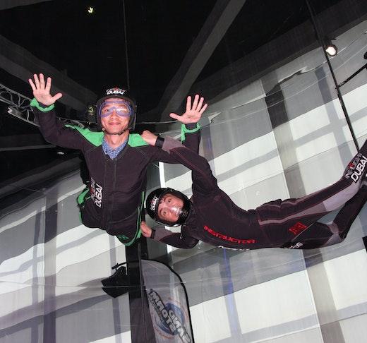 Inflight Indoor Skydiving Dubai  Location