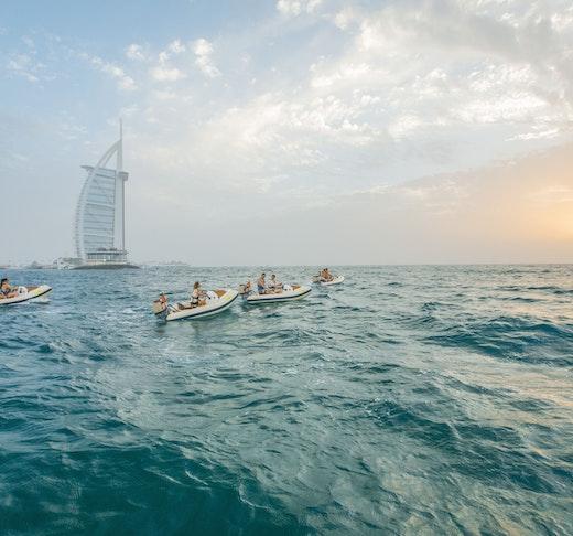 HERO OdySEA Self Drive Dubai Boat Tour Location