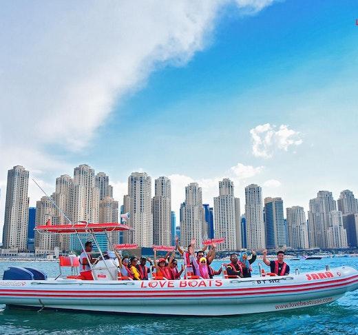 Love Boat Sightseeing Tour Dubai Price