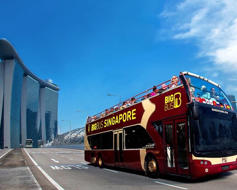 Big Bus Singapore Hop on Hop off Tour