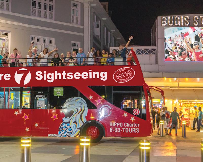 Big Bus Singapore Hop on Hop off Tour Tripx Tours