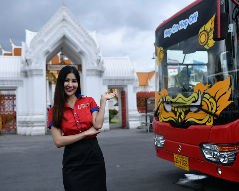 Hop on Hop off Bus Bangkok By Giants City Tour Ticket