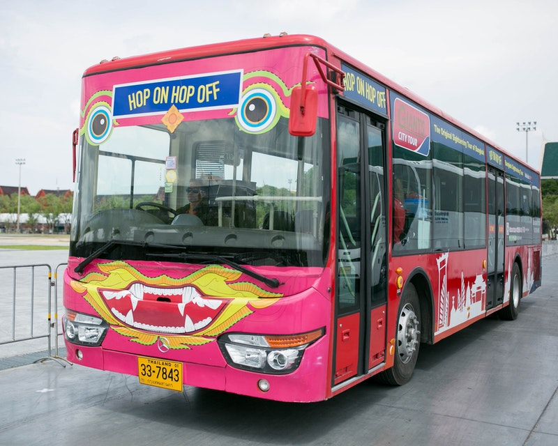 Hop on Hop off Bus Bangkok By Giants City Tour Discount