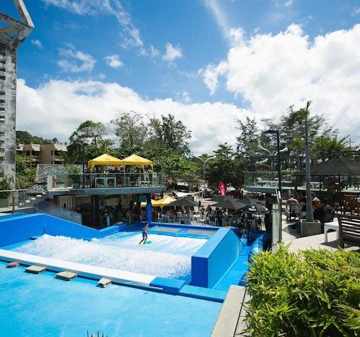 Surf House Phuket Kata Beach Location