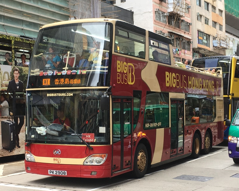 BigBus Hong Kong Location