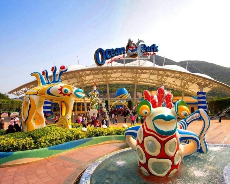 Hong Kong Ocean Park Ticket