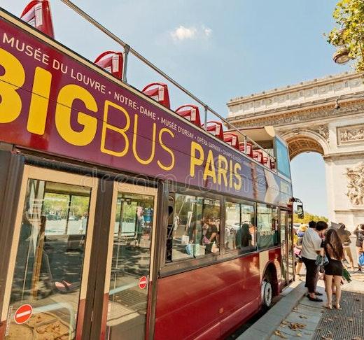 Big Bus Hop on Hop off Pass Location