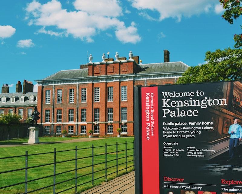 Kensington Palace Tickets Location
