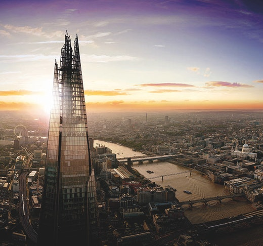 The View From The Shard Tickets Location