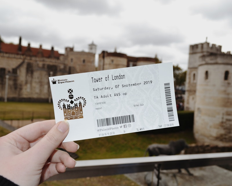 Tower of London Tickets Price