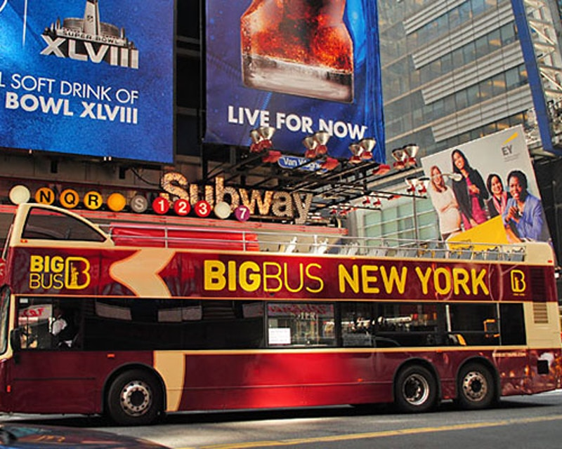 Big Bus New York Hop On Hop Off Bus Tour Category