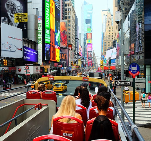 Big Bus New York Hop On Hop Off Bus Tour Discount