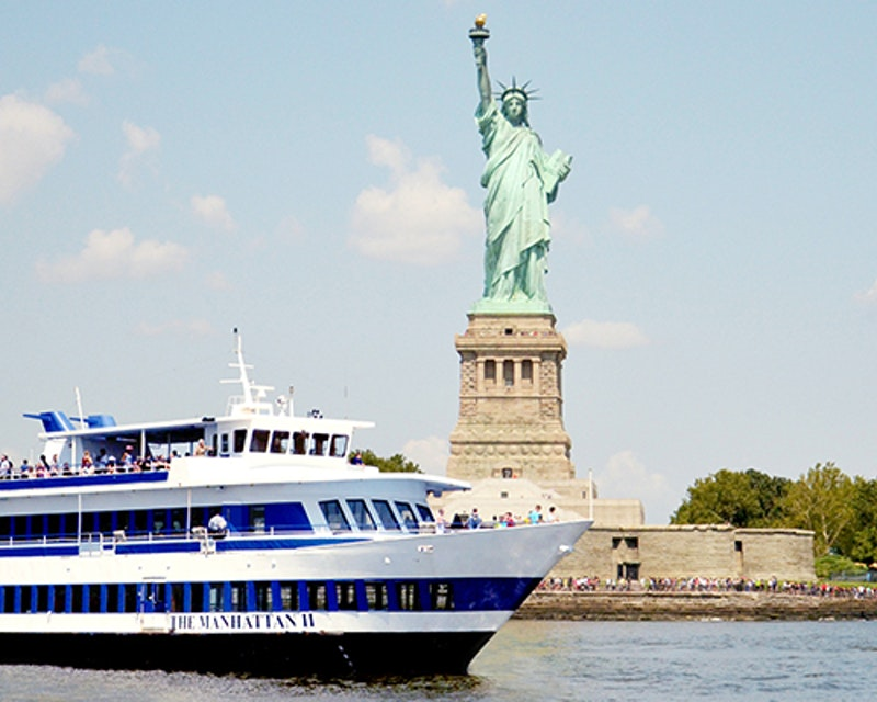 Statue of Liberty Sightseeing Cruise Location