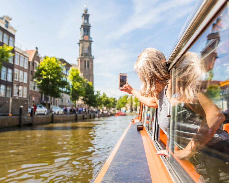 Amsterdam Canal Cruise Location