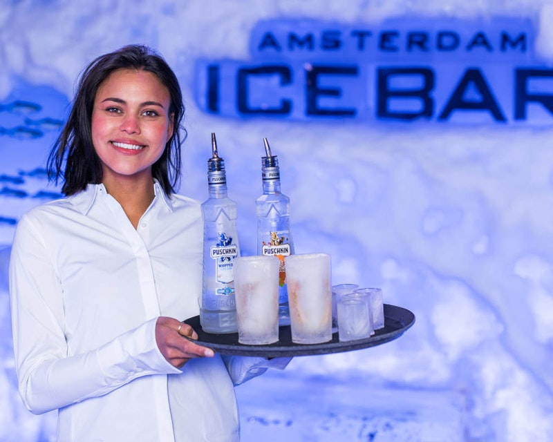 Amsterdam Icebar Tickets Ticket