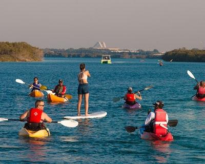 Kayaking through the eastern mangrove national park Price