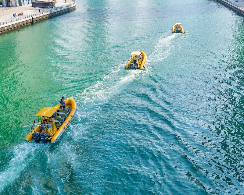 Yellow Boat Tour Abu Dhabi Location