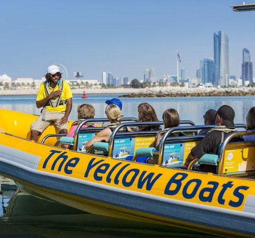 Yellow Boat Tour Abu Dhabi Discount