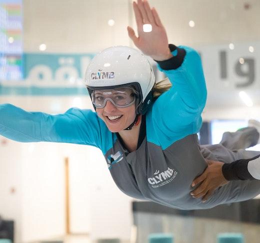 Clymb Abu Dhabi Indoor SkyDiving Location