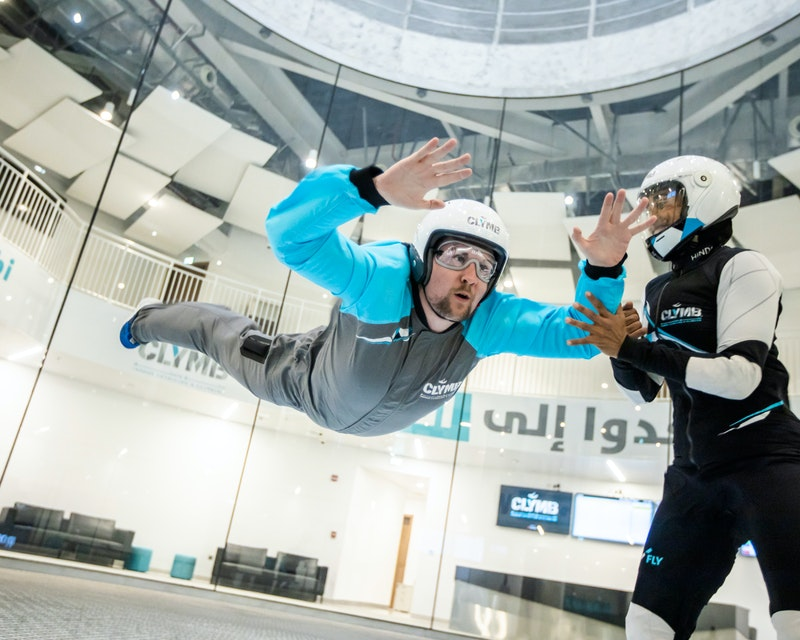 Clymb Abu Dhabi Indoor SkyDiving Price
