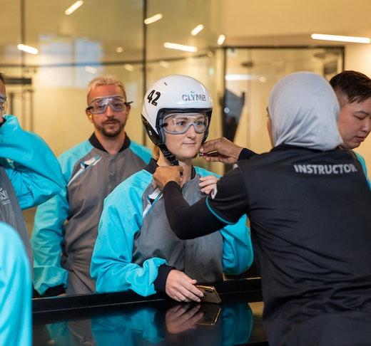Clymb Abu Dhabi Indoor SkyDiving Discount